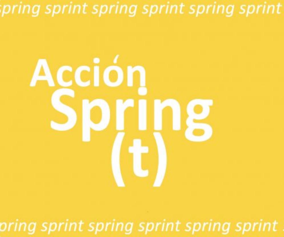 Acción Spring (t) La Naturaleza del Paisaje
