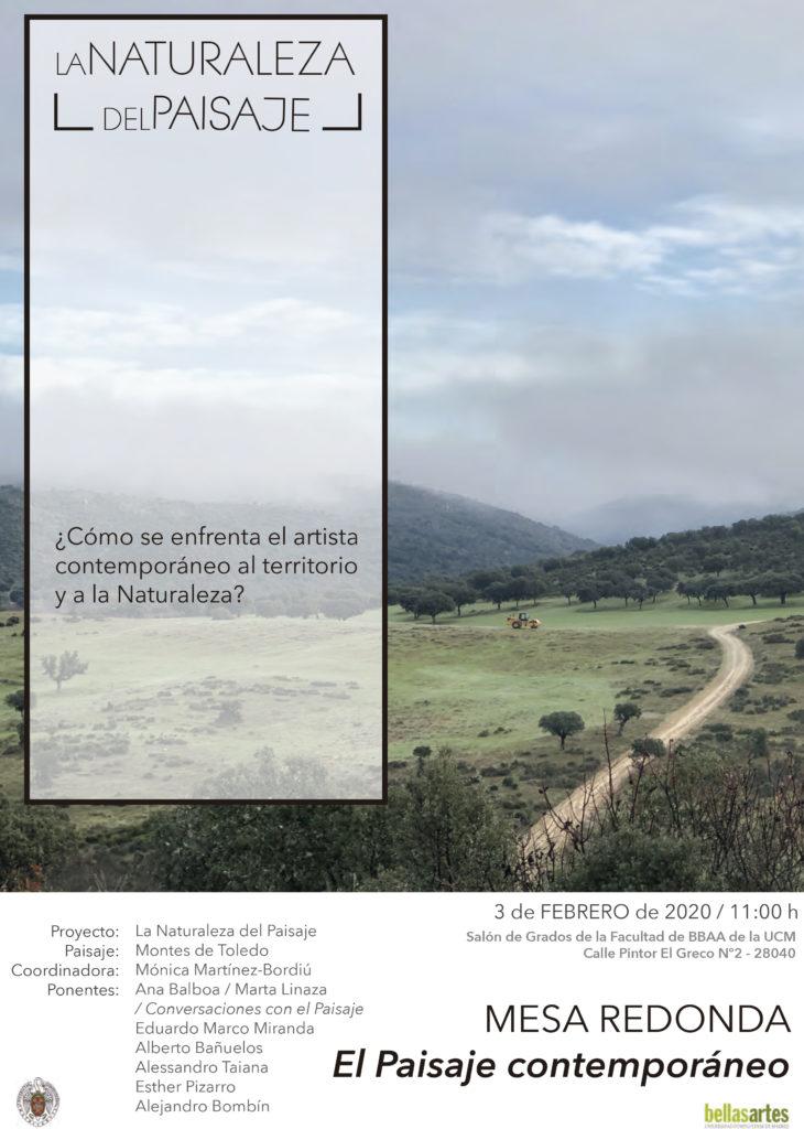 Mesa redonda: el paisaje contemporáneo - La Naturaleza del Paisaje
